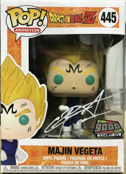 Dragon Ball Z Funko Pop! Majin Vegeta #445 (Signed by Christopher Sabat)