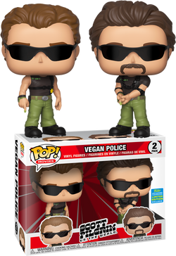 Scott Pilgrim Vs. The World Funko Pop! Vegan Police (2-Pack)