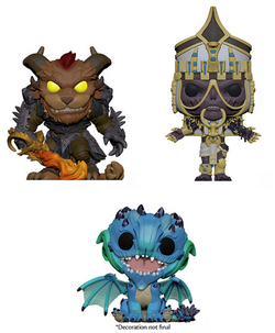 Guild Wars 2 Funko Pop! Complete Set of 3 (Pre-Order)