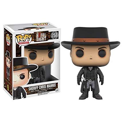The Hateful Eight Funko Pop! Sheriff Chris Mannix #258