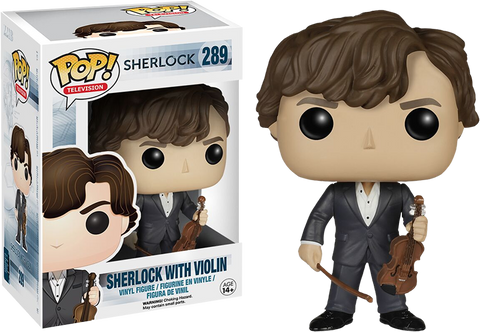 Sherlock Funko Pop! Sherlock with Violin