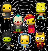 The Simpsons Funko Pop! Complete Set of 7 2020 (Pre-Order)