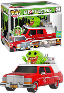 Ghostbusters Funko Pop! Ecto-1 with Slimer (Shared Sticker) #24