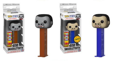 Star Wars Funko Pop! Pez Snaggletooth CHASE & Common