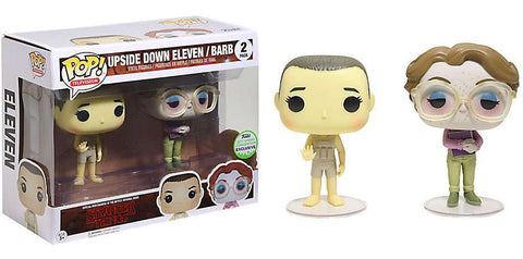 Stranger Things Funko Pop! Upside Down Eleven / Barb (2-Pack)
