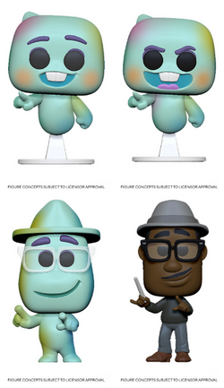 Soul Funko Pop! Complete Set of 4 (Pre-Order)