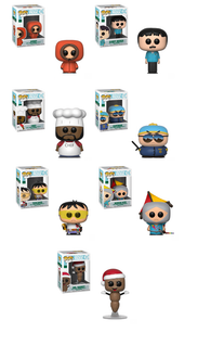 South Park Funko Pop! Complete Set of 7 (Pre-Order)