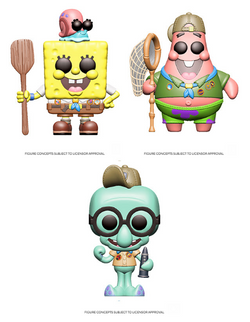 Spongebob Squarepants Funko Pop! Complete Set of 3 Series 3 (Pre-Order)