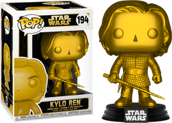 Star Wars Funko Pop! Kylo Ren (Gold Metallic) #194 (Pre-Order)