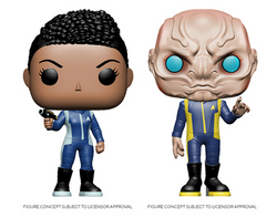 Star Trek: Discovery Funko Pop! Complete Set of 2 (Pre-Order)