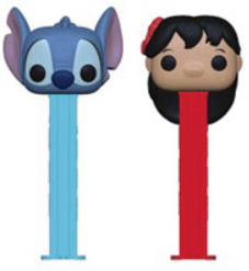 Disney Funko Pop! PEZ Lilo & Stitch Complete Set of 2 (Pre-Order)