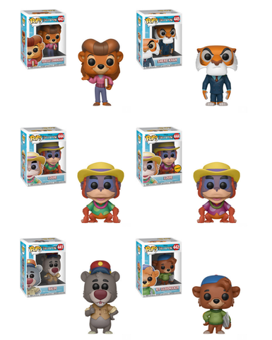 Tale Spin Funko Pop! Complete Set of 6 CHASE Included (Pre-Order)
