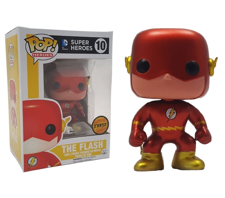Dc Super Heroes Funko Pop The Flash Chase 10 Big Apple