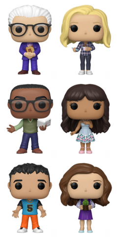 The Good Place Funko Pop! Complete Set of 6 (Pre-Order)