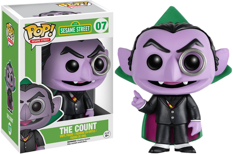 Sesame Street Funko Pop! The Count