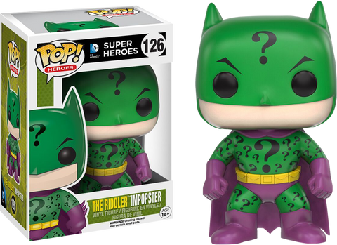 DC Super Heroes Funko Pop! The Riddler Impopster #126