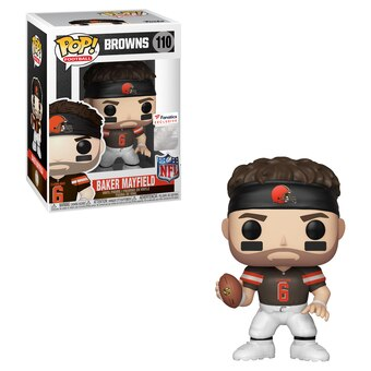 NFL Browns Funko Pop! Baker Mayfield (Brown Jersey) #110