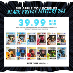 Big Apple Collectibles Funko ~ Black Friday Super Grail/Exclusive Mystery Box