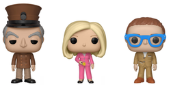 Thunderbirds Funko Pop! Complete Set of 3 (Pre-Order)