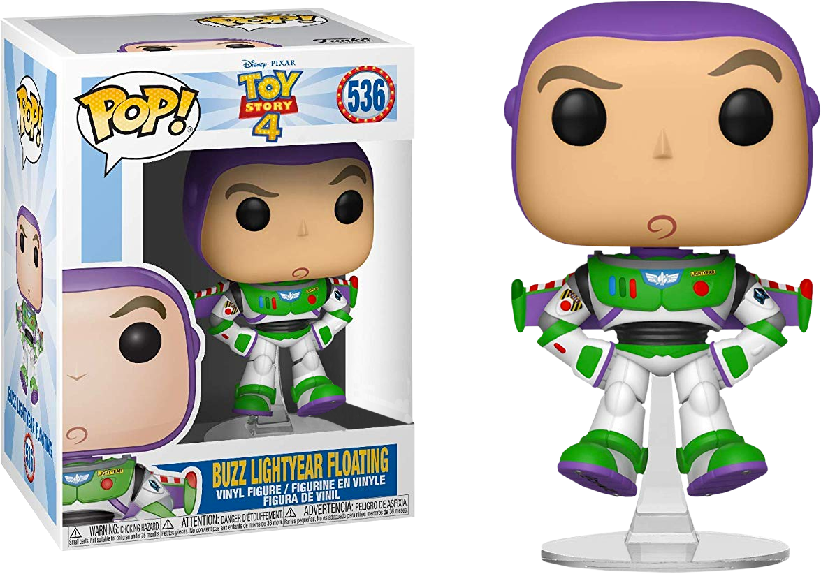 Toy Story 4 Funko Pop Buzz Lightyear Floating 536 Big Apple Collectibles