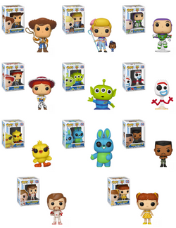 Toy Story 4 Funko Pop! Complete Set of 11 (Pre-Order)