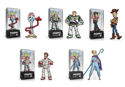 Toy Story 4 FiGPiN Complete Set of 5 Collector Case (Pre-Order)