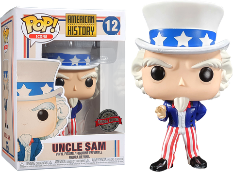 American History Funko Pop! Uncle Sam #12