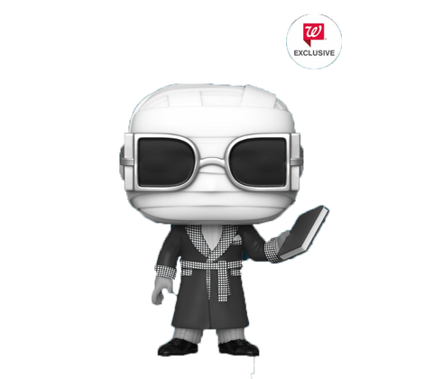 Universal Studios Monsters Funko Pop! Invisible Man (Black and White) (Pre-Order)