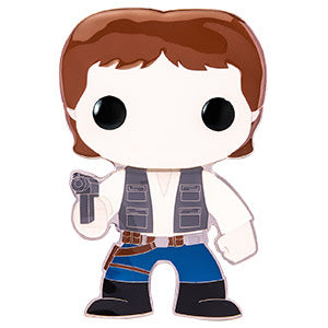Star Wars Funko Pop! Pins Han Solo (Pre-Order)