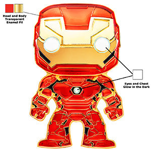 Marvel Funko Pop! Pins Iron Man (Pre-Order)
