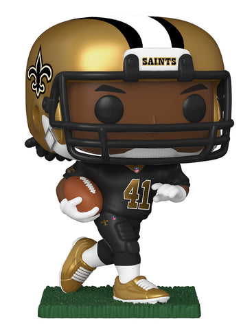 NFL Saints Funko Pop! Alvin Kamara (with Helmet) (Pre-Order)