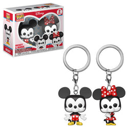 Disney Funko Pop! Keychain Mickey & Minnie (2-Pack) (Pre-Order)