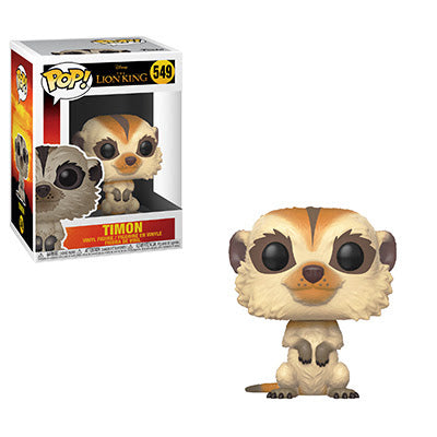 The Lion King Funko Pop! Timon (Live Action) #549 (Pre-Order)