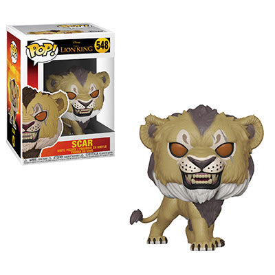 The Lion King Funko Pop! Scar (Live Action) #548 (Pre-Order)