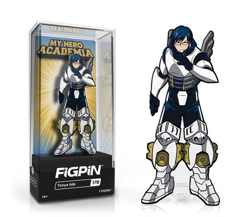 My Hero Academia FiGPiN Tenya Lida Collector Case #178