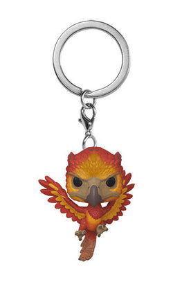 Harry Potter Funko Pop! Keychain Fawkes