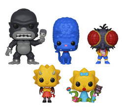 The Simpsons Funko Pop! Complete Set of 5 Treehouse of Horror (Pre-Order)