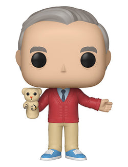 A Beautiful Day in the Neighborhood Funko Pop! Mr. Rogers (with Daniel Tiger)