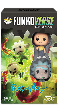 Rick and Morty Funko Funkoverse Strategy Game (Expandalone) #100 (Pre-Order)