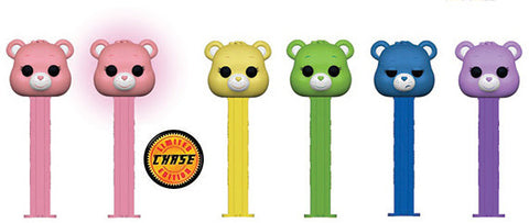 Care Bears Funko Pop! Pez Complete Set of 6 Chase Included (Pre-Order)