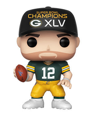 NFL Packers Funko Pop! Aaron Rodgers (Superbowl Champion Hat) #43