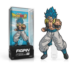 Dragon Ball Super FiGPiN Super Saiyan God Super Saiyan Gogeta Collector Case #202