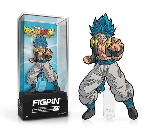 Dragon Ball Super FiGPiN Super Saiyan God Super Saiyan Gogeta Collector Case #202 (Pre-Order)