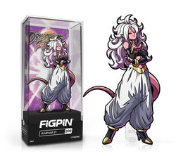 Dragon Ball Z FiGPiN Android 21 Collector Case #208 (Pre-Order)