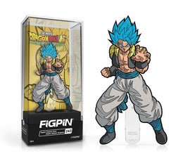 Dragon Ball Super FiGPiN Super Saiyan God Super Saiyan Gogeta CHASE Collector Case #243