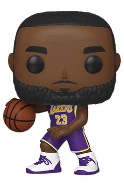 NBA Lakers Funko Pop! Lebron James (Purple Jersey) (Action Pose) (Pre-Order)