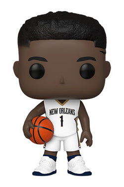 NBA Pelicans Funko Pop! Zion Williamson (White Jersey) (Pre-Order)
