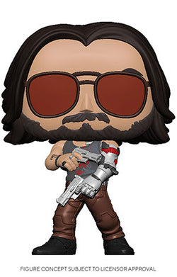 Cyberpunk 2077 Funko Pop! Johnny Silverhand (with Guns) (Pre-Order)