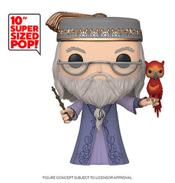 Harry Potter Funko Pop! Dumbledore (with Fawkes) 10 Inch (Pre-Order)