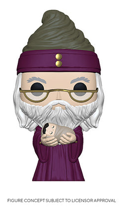 Harry Potter Funko Pop! Dumbledore (with Baby Harry) (Pre-Order)